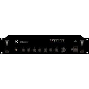 ITC Audio T-120DC เพาเวอร์มิกเซอร์ 120 วัตต์ 3 mic, 2 aux, 100V/70V and 4-16ohms