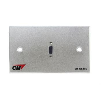 CM CM-W5401VF Video Inlet / Outlet Plate Video with VGA , 1 Port  แผ่นติด VGA ตัวเมีย 1 ช่อง