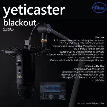 Blue Yeti Caster Studio (blackout)