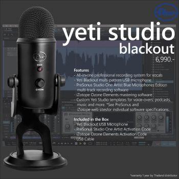 Blue Yeti Studio (blackout)