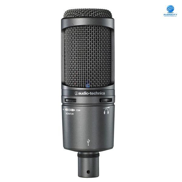 Audio-Technica AT2020USB+ ไมโครโฟนบันทึกเสียง USB ต่อกับ คอมพิวเตอร์