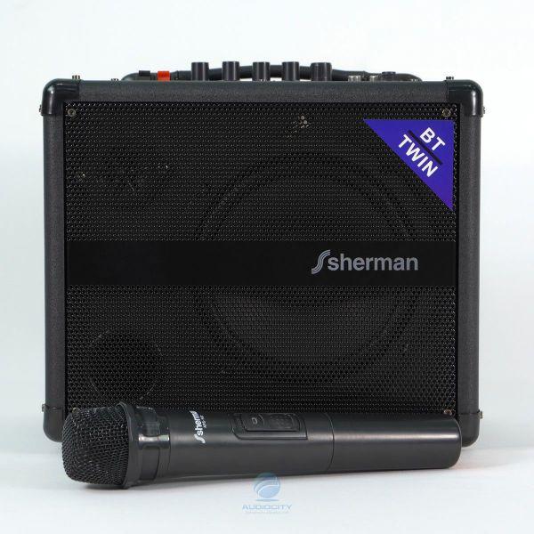 Sherman APS107 ลำโพงกระเป๋าหิ้วพร้อมไมค์ลอย