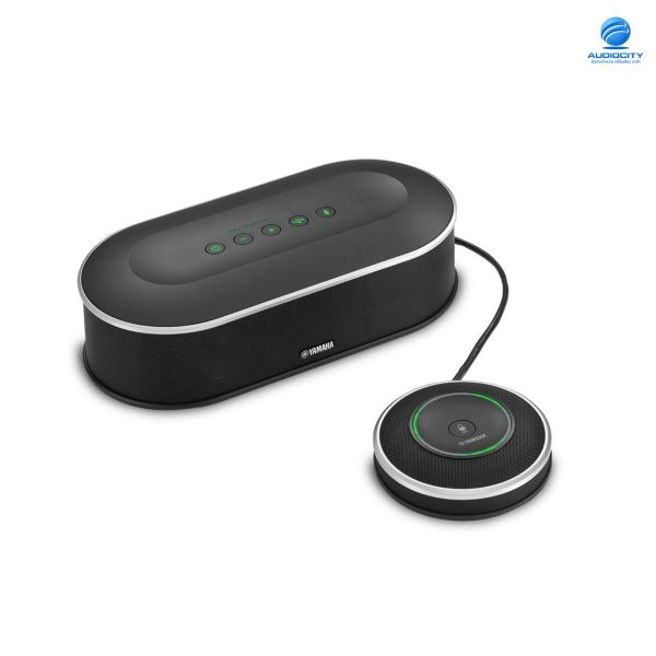 YAMAHA YVC-1000 ลำโพงพร้อมไมโครโฟนสำหรับห้องประชุมขนาดกลาง Conference Speaker Unified Communications Microphone & Speaker System