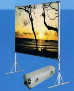 Vertex Easy Fold-150 | จอประเภท 150 นิ้ว ขาตั้ง เนื้อผ้า+เฟรมอลูมินียม+ขาตั้ง2ขา+กล่องบรรจุ