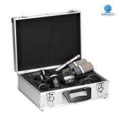 AKG DRUM SET PREMIUM | ชุดไมโครโฟนสำหรับอัดกลองชุด แบบครบเซ็ต 7 ตัว แบบ Dynamic และ Condenser