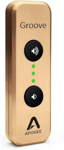 Apogee GROOVE LE-G   Portable USB DAC and Headphone Amp for Mac and PC - Gold