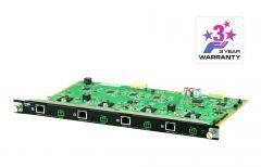 ATEN VM7514 | 4-Port HDBaseT Input Board สำหรับติดตั้งเข้ากับ VM1600A ATEN Modular Matrix Switch เพิ่มสูงสุดได้ 4 board ในเครื่องเดียว จึงมี Input ได้สูงสุดถึง 16 Input