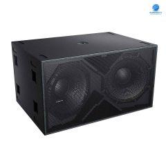 Audiocenter K-LA218 ตู้ลําโพงซับวูฟเฟอร์ 2x18 นิ้ว 1,600 วัตต์ 4 โอห์ม