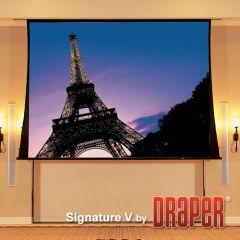 Draper Signature-V จอภาพขนาดใหญ่ 16:19 HD Matt White