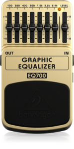 Behringer EQ700 เอฟเฟ็คกีตาร์ GRAPHIC EQUALIZER