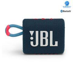 JBL Go 3 ลำโพงพกพาไร้สาย ลำโพงจิ๋ว กันน้ำ กันฝุ่น เชื่อมต่อการทำงานด้วยระบบบลูทูธ ใช้งานได้ 5 ชม.(น้ำเงินชมพู)