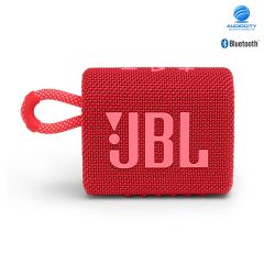 JBL Go 3 ลำโพงพกพาไร้สาย ลำโพงจิ๋ว กันน้ำ กันฝุ่น เชื่อมต่อการทำงานด้วยระบบบลูทูธ ใช้งานได้ 5 ชม.(สีแดง)