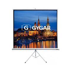 GYGAR TRIPOD SG T 150MW(4:3)  จอโปรเจ็คเตอร์แบบขาตั้ง ขนาด 150 นิ้ว (4:3)