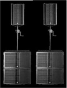 HK Audio LTS Set for 1,000 Audience  ชุดลำโพง LTS Set for 1,000 Audience