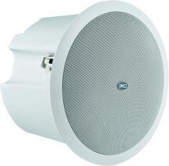 "ITC Audio T-208S ลำโพงติดเพดาน 6.5""Subwoofer ceiling speaker,3.8w,7.5w,15w,30w,60w, 100V metal baffle & metal grille"