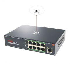 ITC Audio TS-W113 8-Port POE Switcher