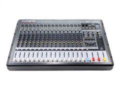 myNPE GT-1650 Power Mixer 16mono 500W (Bluetooth)