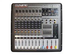 myNPE GT-850 Power Mixer 8mono 500W (Bluetooth)