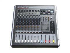 myNPE GT-880 Power Mixer 8mono 2x800W (Bluetooth)
