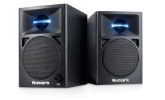 Numark N-Wave 360 | Powered Desktop DJ Monitors (Pair)
