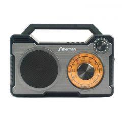 Sherman S-11 ลำโพง Bluetooth  ดีไซน์ Vintage