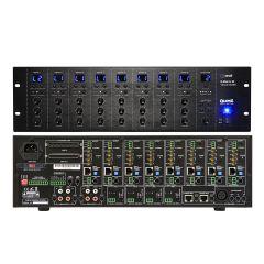 QUEST Q-MATRIX88   เครื่องสลับสัญญาณเสียง Switcher 3 rack Voltage selector between 115V & 230V 8 program inputs