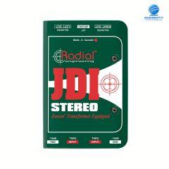 Radial JDI Stereo   ไดเร็คบ๊อกซ์ Stereo Passive DI