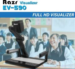 Razr EV 590 เครื่องฉายภาพวัตถุ 3 มิติ Pixel รวม : 5M Zoom Control : 22x Optical 30x Digital