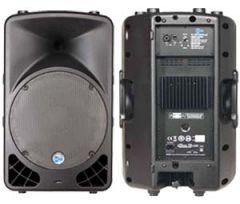 "SHOW SP-15LA   ตู้ลำโพงพลาสติก 15"" + Amp 250W"