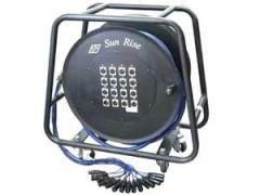 Sun Rise SWC-28X-150FT-CH | สายมัลติคอร์ พร้อมล้อ 28ช่อง 24อินพุท 4รีเทิร์น ยาว 150ฟุต
