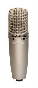 SUPERLUX CM-H8C Large Diaphragm True Condenser Microphone with Polar Pattern Omnidirectional,Cardioid & Figure 8