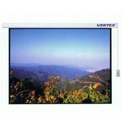 Vertex Motorized Screen-250 จอมอเตอร์ไฟฟ้า 250 นิ้ว เนื้อ Super MW สัดส่วน 3:4