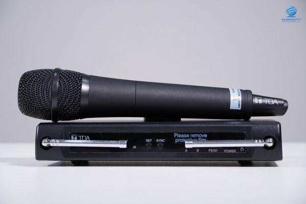 TOA WS-420-AS ชุดไมค์ลอยเดียว คลื่นความถี่ 633 - 671MHz, 803 - 806 MHz ! รุ่นใหม่ 2564