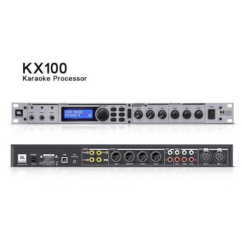 JBL KX100 ปรีแอมป์คาราโอเกะ รองรับ 3 ไมค์ ของแท้ รับประกัน 1 ปี Microphone Karaoke Processor Pre Amp. 3 Composite video inputs