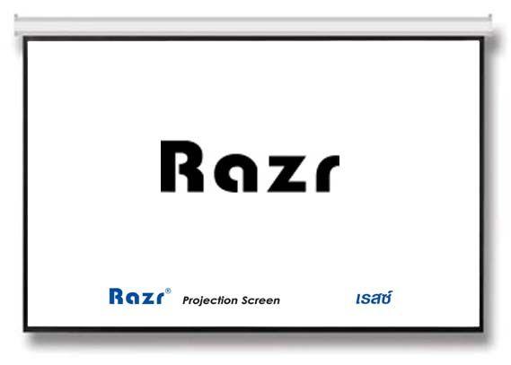 "RAZR WMW-V100 จอภาพชนิดแขวนมือดึง ขนาด 60""x80"" (100""Diag)"